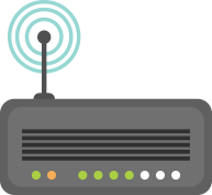 icon of a medical radio transmitter.